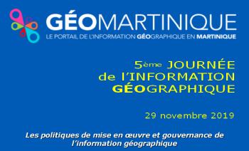Vème Journée de l'Information Géographique