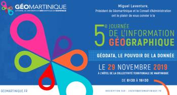 """5e Journée de l'Information Géographique : """"Géodata, le pouvoir de la donnée"""""""
