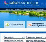 Nouveau Portail Géographique pour GéoMartinique